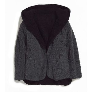 Urban Outfitters BDG Reversible Teddy Jacket